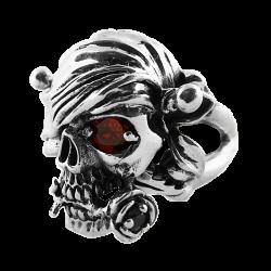 Bague Pirate à la rose