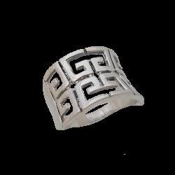 Bague motif style grec