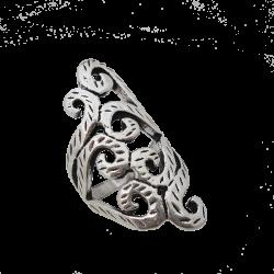 Long arabesque ring