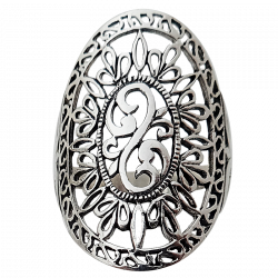 Lace Silver 925 ring