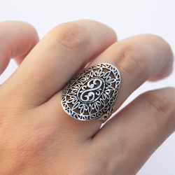 Anello in argento 925 in pizzo