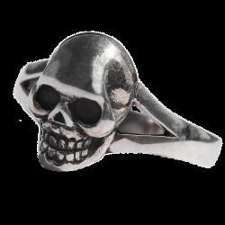 Anello del cranio argento 925