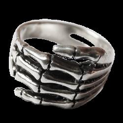 Anello argento scheletro mano