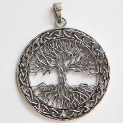 Colgante árbol de la vida, plata 925