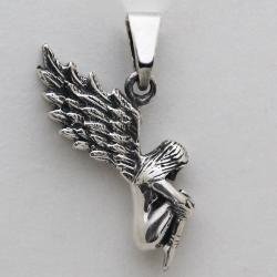 Mischievous fairy pendant