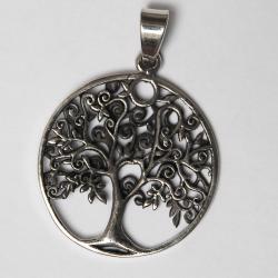 Ciondolo albero della vita argento