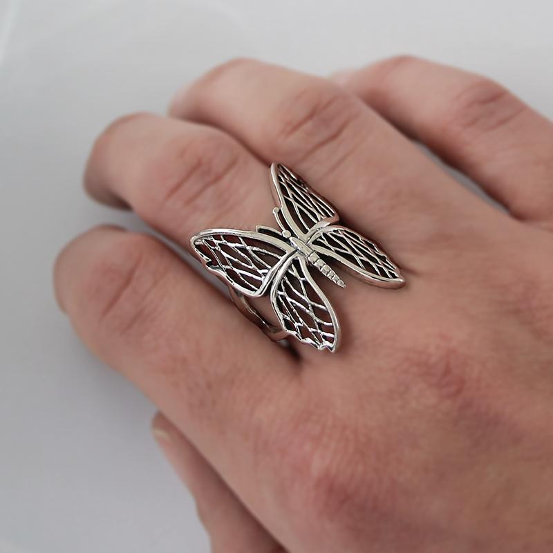 Bague papillon