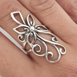 long flower ring